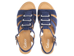 Gabor 25.751.16 in Navy suede top view