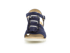 Gabor 25.751.16 in Navy suede front view