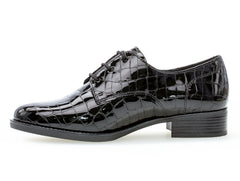 Gabor 52.535.97 in black reptile inner view