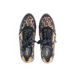 Gabor 56.358.65 in Black Leopard top view