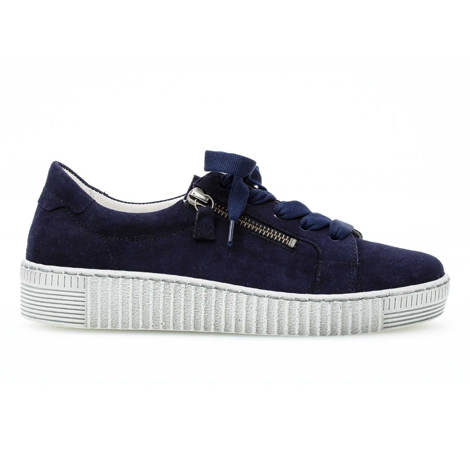 Gabor 63.334.16 in Navy suede outer view