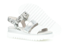 Gabor 64.610.21 in White Silver sole view