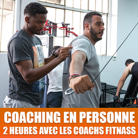 Coaching en Personne avec un Coach Fit-Nass (sessions de 2h)