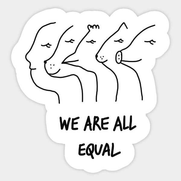 We are all equal…