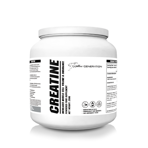 Athletic Generation Creatine Monohydrate (250g)