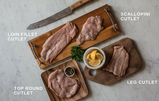 TOP ROUND CUTLETS