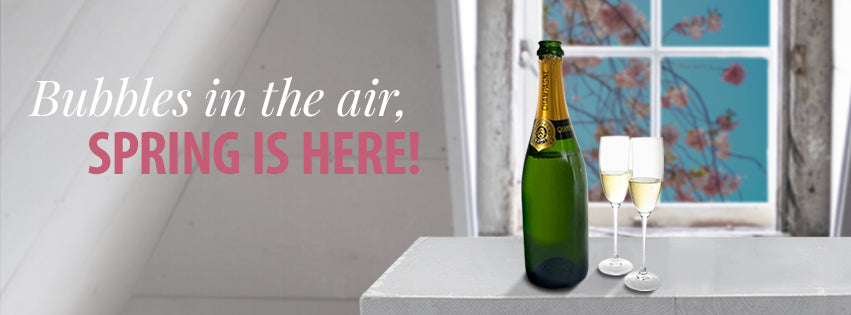 Bubbles in the air, spring is here!