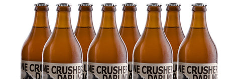 THE WIT BEERS Darling Brew Bone Crusher A Bottle Conditioned Frosted