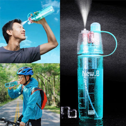 Reusable Misting Water Bottle