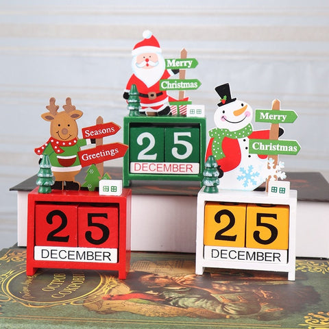 Christmas Block Countdown Calendar
