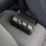 Organized Coin Compartment