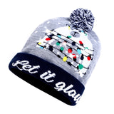 Crazy Christmas LED Beanie