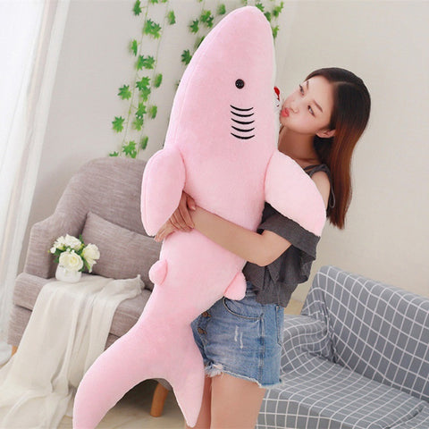 Sharky Pillow Plush Toy