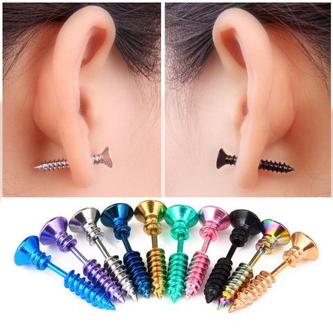 Stud Screw Earring
