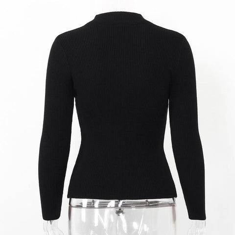 Long Sleeve Basic Sweaters / Pullovers - LYKEEY