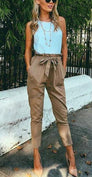 Fania Loose Pants - Oatmeal
