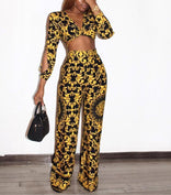 Empire Gold Jumpsuit