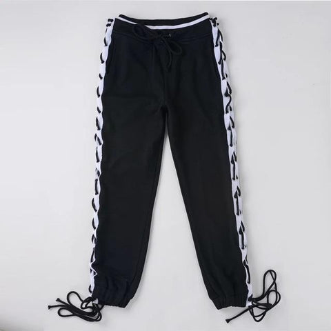 Lace Up SweatPants