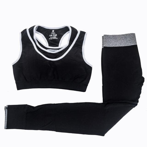 Bra and Pants Yoga Set - LYKEEY