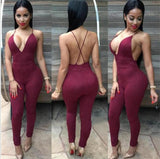 Backless Jumpsuit - LYKEEY