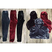 Velvet Hoodies Pullovers Long Sleeve and Pants Tracksuit - LYKEEY