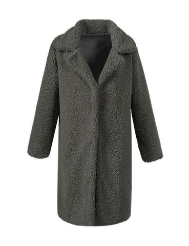 Tamy Oversized Long Faux Fur Coat