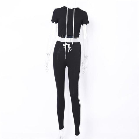 Hooded Tracksuit Jogging Suit - LYKEEY
