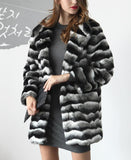 Camilia Black & White Velvet Coat