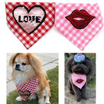 Pet Bandanas Decorative Collar Holiday