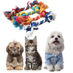 Pets Dental Cleaning Rope Toys Dogs