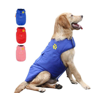Waterproof Dog Vest Jacket Two Side