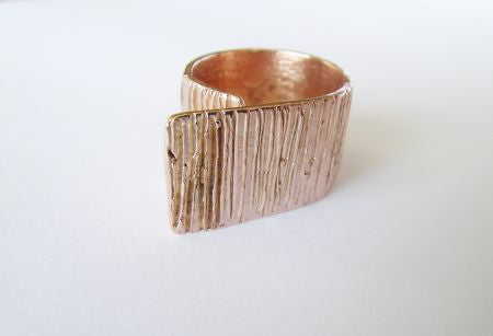 Bronze band ring
