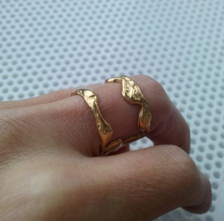 Frame bronze ring