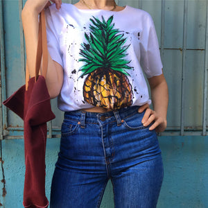 Hand Drawn Pineapple T-Shirt