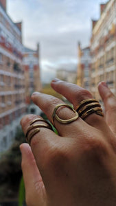 Handmade Bronze Rings