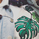 Hand-drawn Leaf T-Shirt