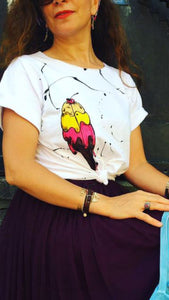 Hande Drawing T-shirt /Ice Cream