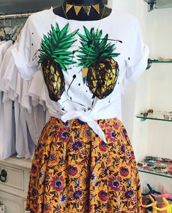 Hand Drawn Pineapples T-Shirt