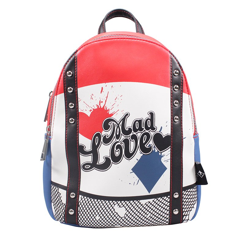 Harley Quinn 'Mad Love' Official Licensed Backpack