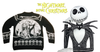 The Nightmare Before Christmas Knitted Jumper- 'Seriously Spooky' Knitted Christmas Jumper