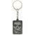 WATCH DOGS Skull Brushed Metal Keychain with Embedded Detail, 6cm (GE2072)