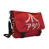 ATARI Messenger Bag with Japanese Logo, Unisex, Crimson Red (MB221005ATA)