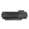 SPEEDLINK Rapax Stealth Compact Red LED Illumination Gaming Keyboard, UK Layout, Black (SL-6480-BK-UK)