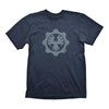GEARS OF WAR 4 Phoenix Omen Symbol T-Shirt, Male, Large, Navy Blue (GE6039L)