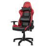SPEEDLINK Regger Gaming Optimised Chair with 360 Degree Swivel & Lumbar Support, Red (SL-660000-RD-01)
