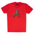 OVERWATCH McCree Pixel T-Shirt, Unisex, Extra Large, Red (TS002OW-XL)