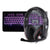 WASDKEYS K300 Gaming Keyboard & H200 Stereo Gaming Headset, Black (K300-UK/H200)