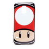 NINTENDO Super Mario Bros. Toad Mushroom Face Phone Cover for Samsung S5, Multi-colour (PH180314NTNS5)