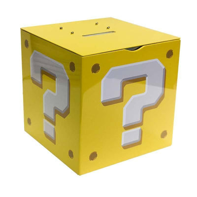 Stationary - Super Mario Question Block Moneybox