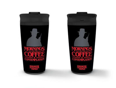 Stranger Things Travel Mug 'Coffee and Contemplation'